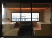 Уникальный дизайн бани с применением панелей Rohol